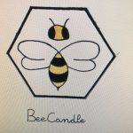 bee candle2